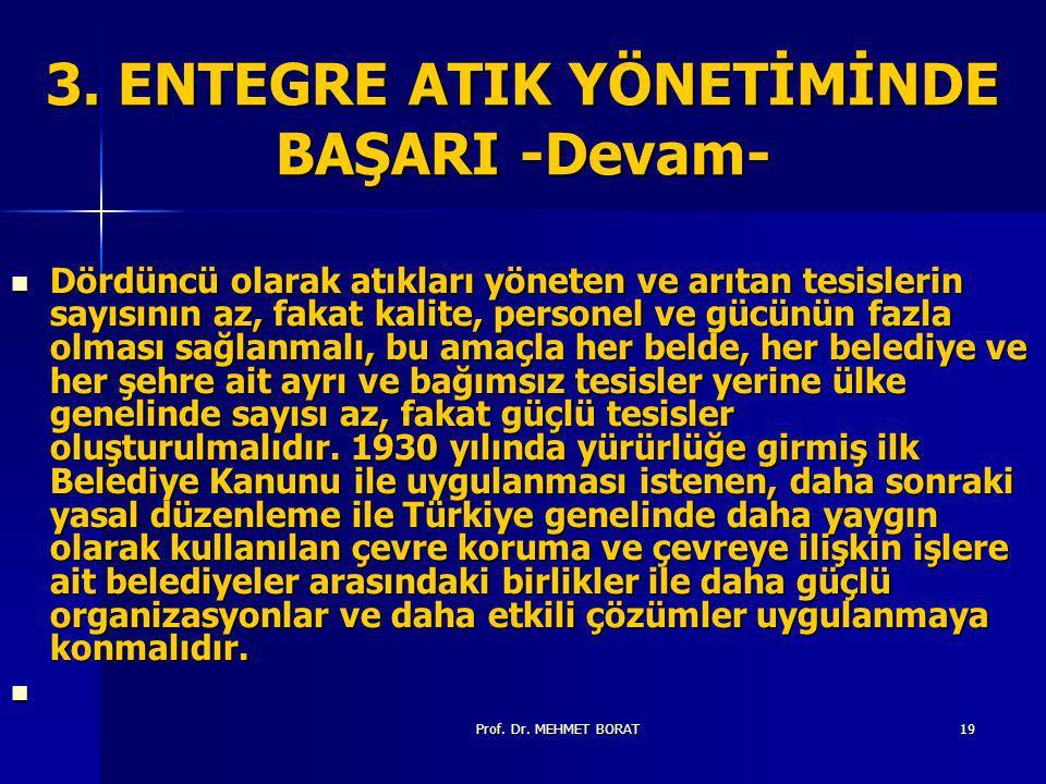 Prof.Dr. MEHMET BORAT19 3.