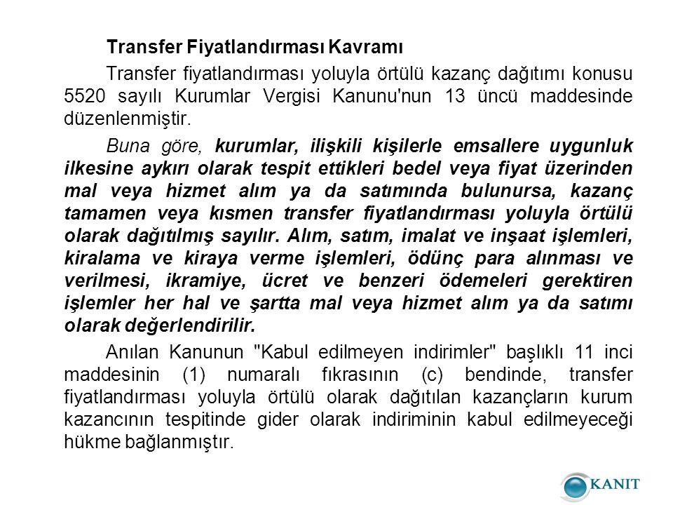 - Örtülü Kazanç Dağıtan Kurumun Zararlı Olması Durumunda Vergilendirme KVK'nın 13.