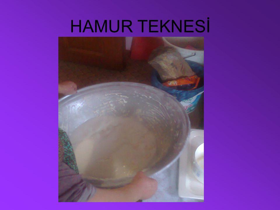 HAMUR TEKNESİ