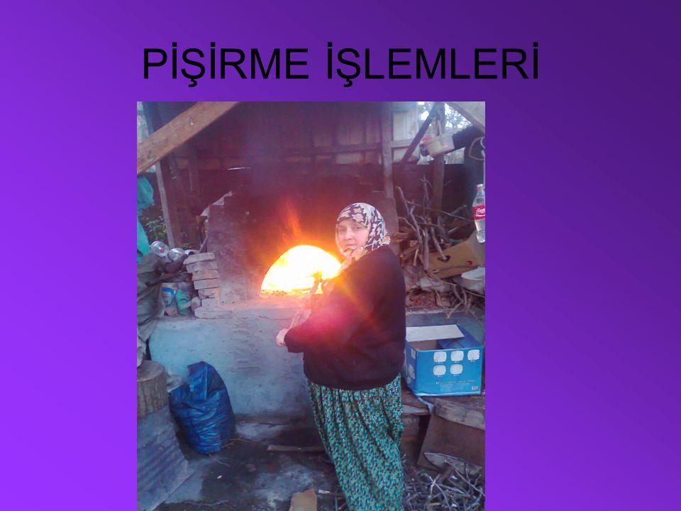 PİŞİRME İŞLEMLERİ