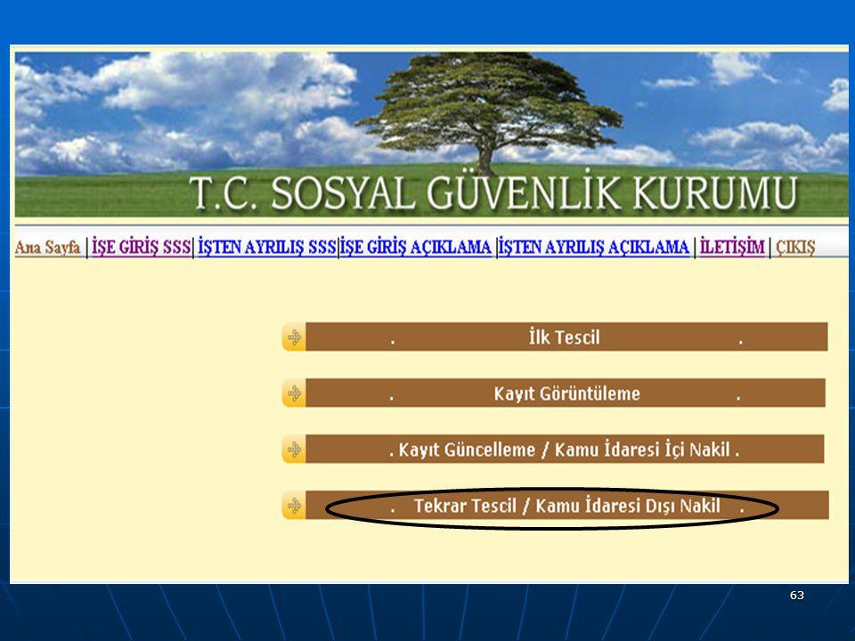64 ABANT İZZET BAYSAL ÜNİVERSİTESİ 13.4.200910.12.2010
