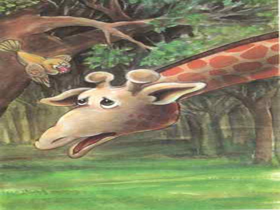 Böylece kuş ve zürafa arkadaş olmuşlar.