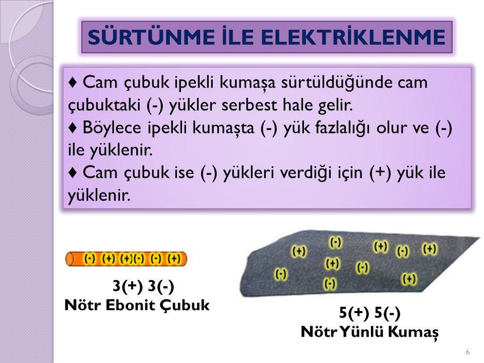 ♦ Ameliyathanelerde zemin iletken bir malzeme ile yapılmıştır.