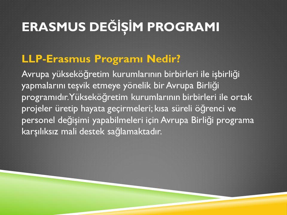 Programın amacı Programa katılan ülkeler arasında akademik ve kültürel de ğ işimi sa ğ lamanın yanı sıra Avrupa'da yüksek ö ğ retimin kalitesini arttırmak ve Avrupa boyutunu güçlendirmektir.