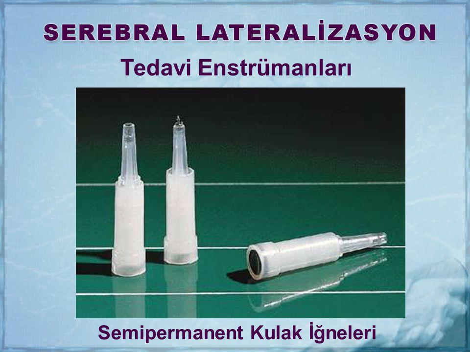 Tedavi Enstrümanları Semipermanent Kulak İğneleri