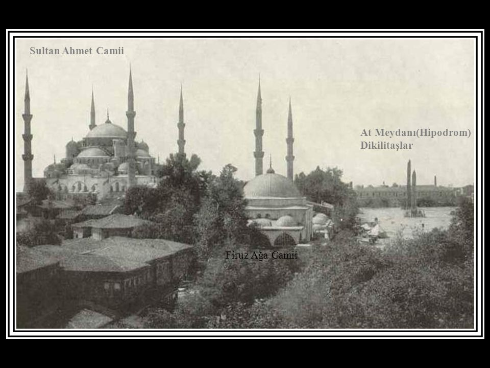 Süleymaniye Camii Haliçte surlar Cibali Sigara Fabrikası