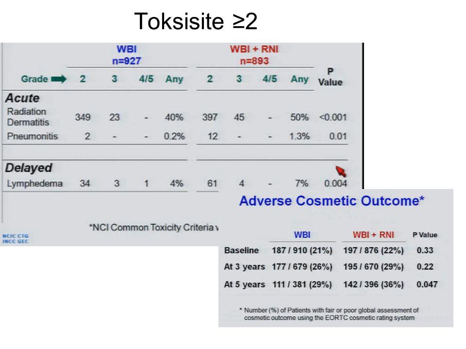 Toksisite ≥2