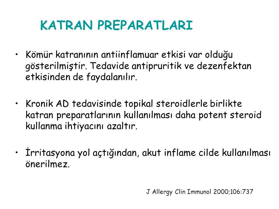 ENFEKSİYONLARIN TEDAVİSİ : S. Aureus ile oluşabilecek sekonder infeksiyonların tedavisinde sistemik antibiyotik gerekebilir. Lokalize deri enfeksiyonl