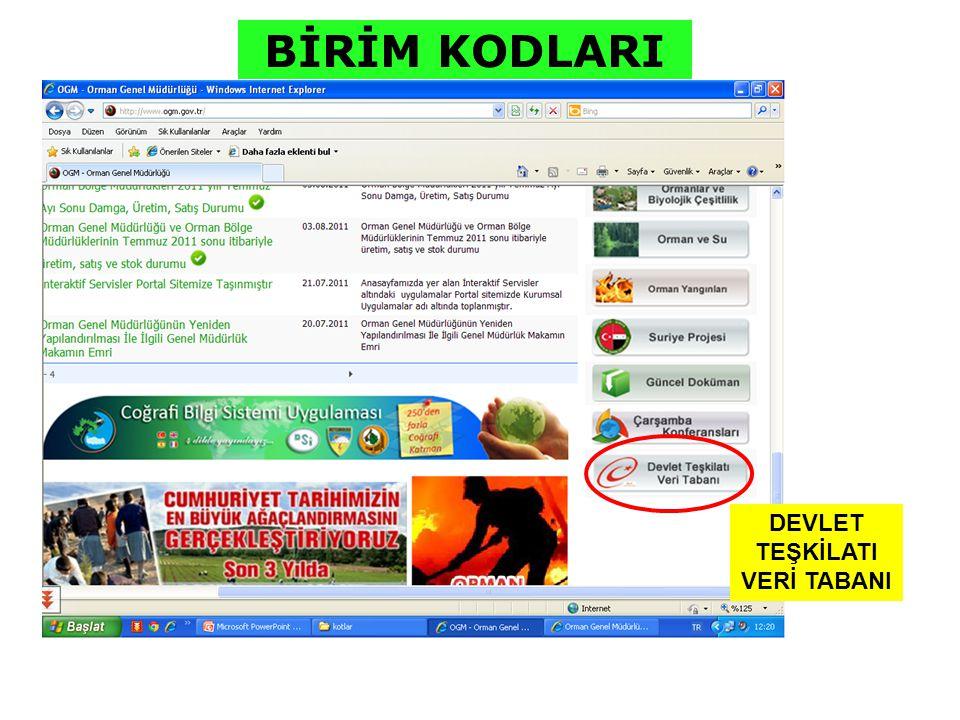 T.C.ORMAN VE SU İŞLERİ BAKANLIĞI Orman ve Su İşleri 8.