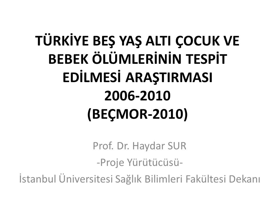12Haydar Sur Beçmor 2010 Sunumu - Antalya
