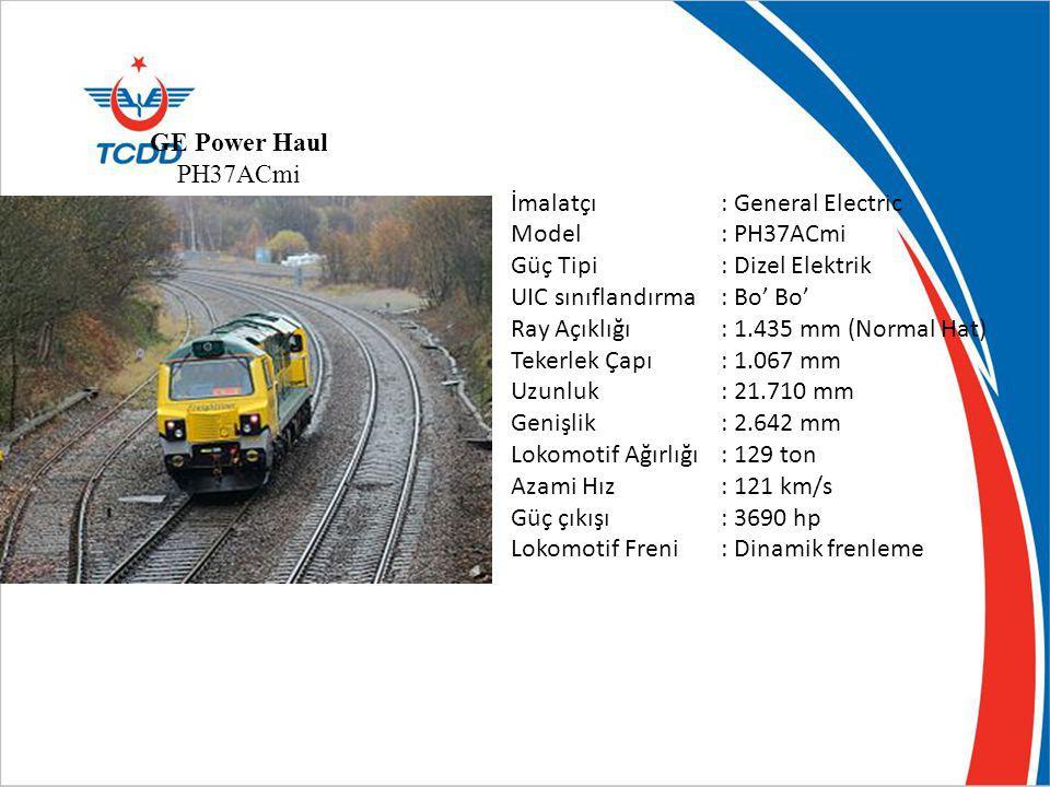 Dalian lokomotive CNR Corporation/ÇİN İmalatçı: Dalian LocomotiveDalian Locomotive Corporation, EMDCorporationEMD Model: JT6ACe Güç Tipi: Dizel Elektrik UIC sınıflandırma: Co' Co' Ray Açıklığı: 1.435 mm (Normal Hat) Tekerlek Çapı: 1.050 mm Uzunluk: 21.710 mm Genişlik: 2.642 mm Lokomotif Ağırlığı: 150 ton Azami Hız: 120 km/s Güç çıkışı: 4700 hp