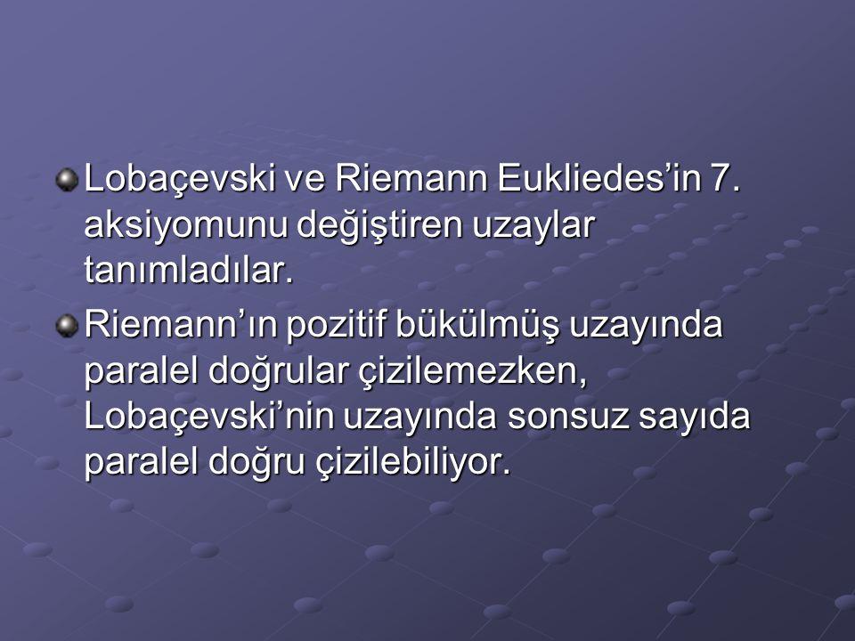 Riemman Geometrisi, Riemman Yüzeyleri cebirsel fonksiyonlara ilişkin Riemman-Roch Teoremi, Riemman gönderim teoremi, Riemman integrali, trigonometrik serilerle ilgili Riemman Yöntemi, Abel Fonksiyonları konusundaki Riemman matrisleri, hiperbolik kısmi diferansiyel denklemlerin çözümünde kullanılan Riemman Yöntemi, Riemman-Lebesgue Teoremi, Riemman eğriliği, Riemman-Liouville integralleri ve günümüzde hala kanıtlanamamış olan Riemman varsayımı gibi kendi adıyla anılan kavram, yöntem ve teoremlerin sayısı, çalışmalarını anlatmaya yeterlidir.