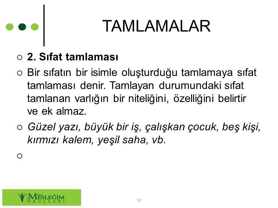 TAMLAMALAR ○ 2.
