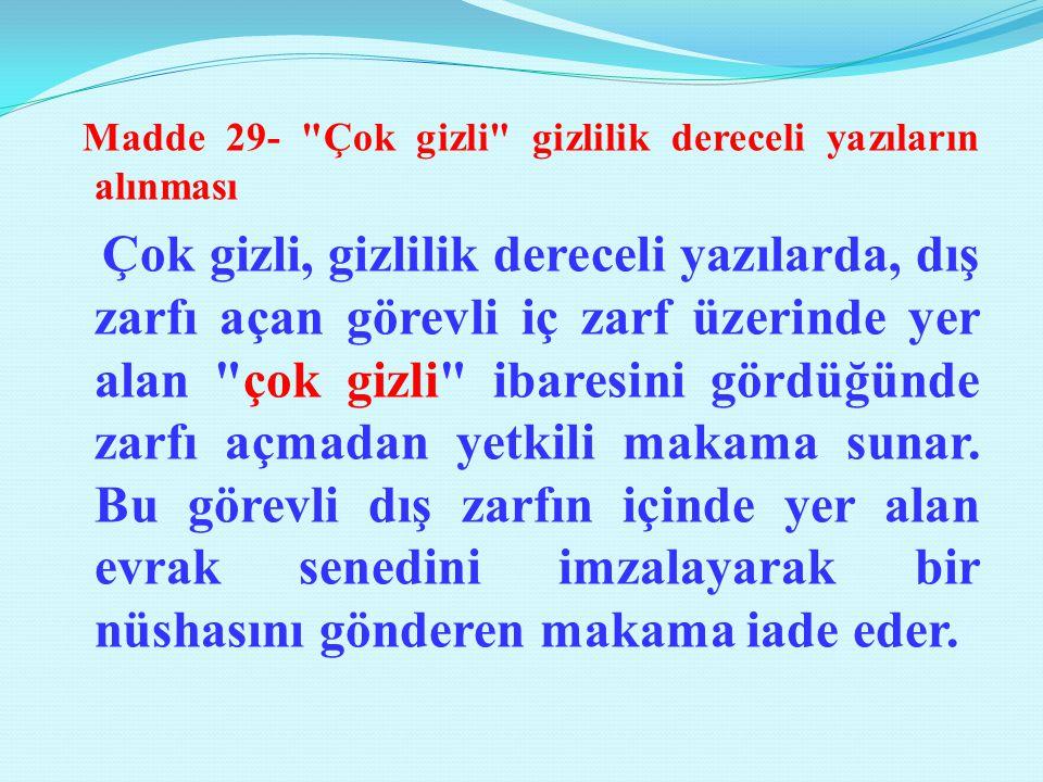 Madde 29-
