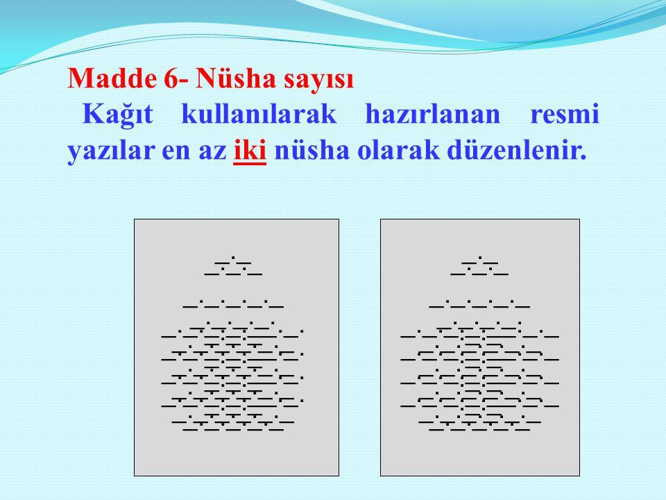 Madde 12- Konu Konu, sayının bir aralık altına Konu: yan başlığından sonra, başlık bölümündeki T.C. kısaltması hizasını geçmeyecek biçimde yazılır.