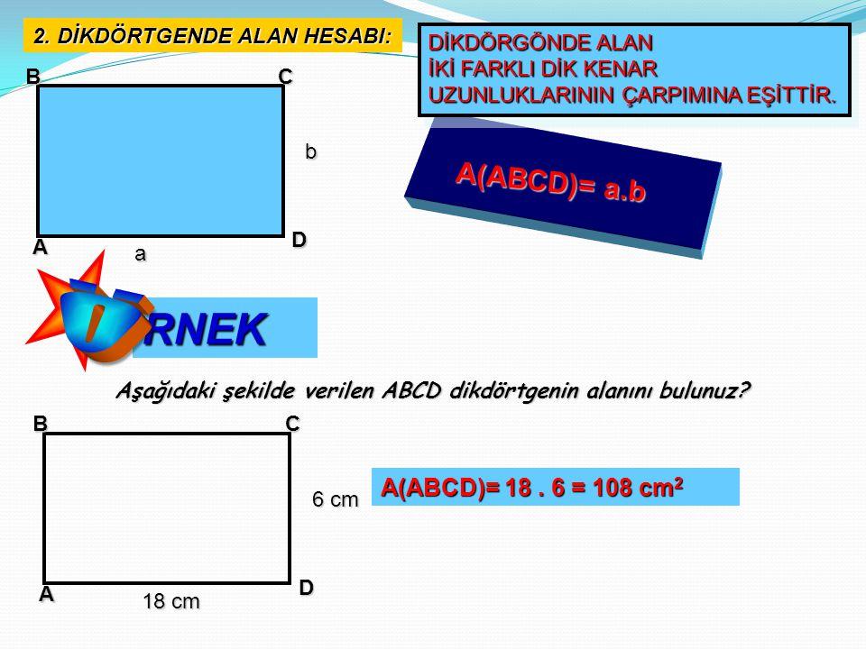 ABC D E 20 cm 11 cm ABCD bir paralel kenardır.