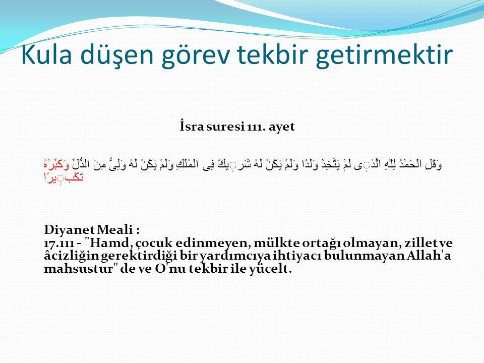Allah'a karşı kibir: şeytan a.La'neh Bakara suresi 34.