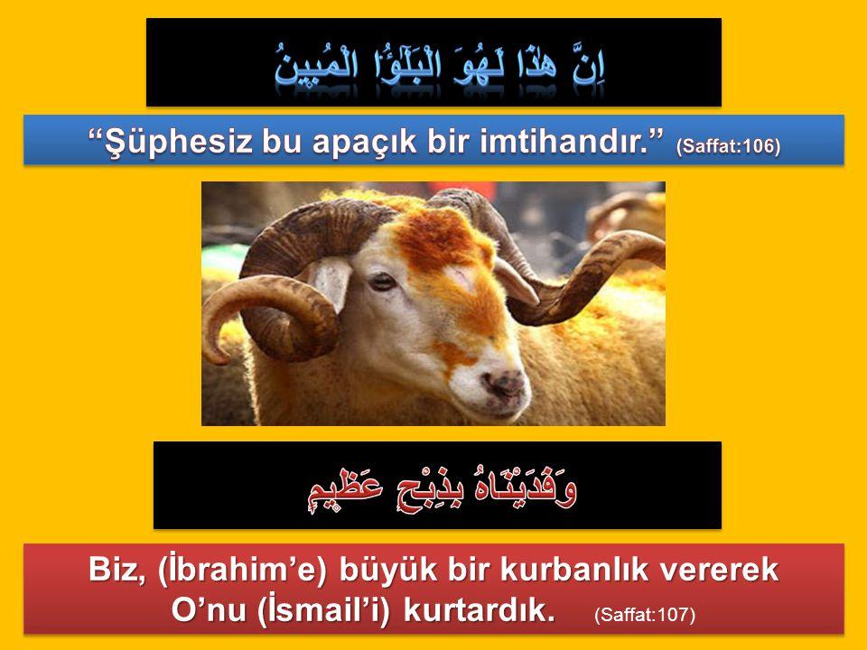 1- Her şeyden önce Allah'ın emrine itaat edilmektedir.