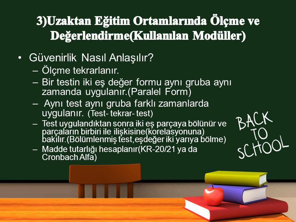 www.free-ppt-templates.com Güvenirlik Nasıl Anlaşılır.