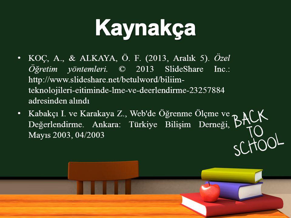 www.free-ppt-templates.com KOÇ, A., & ALKAYA, Ö.F.