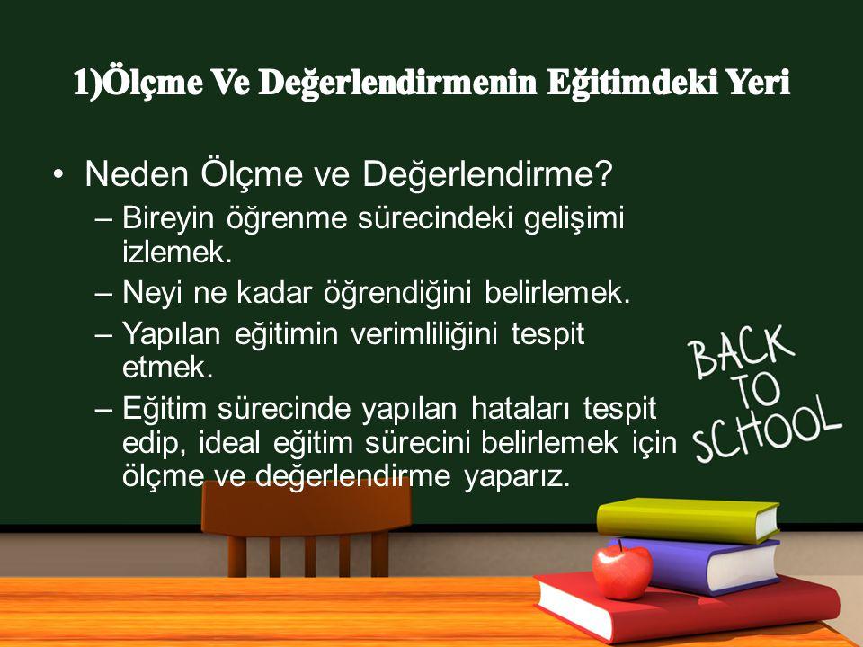 www.free-ppt-templates.com Neden Ölçme ve Değerlendirme.