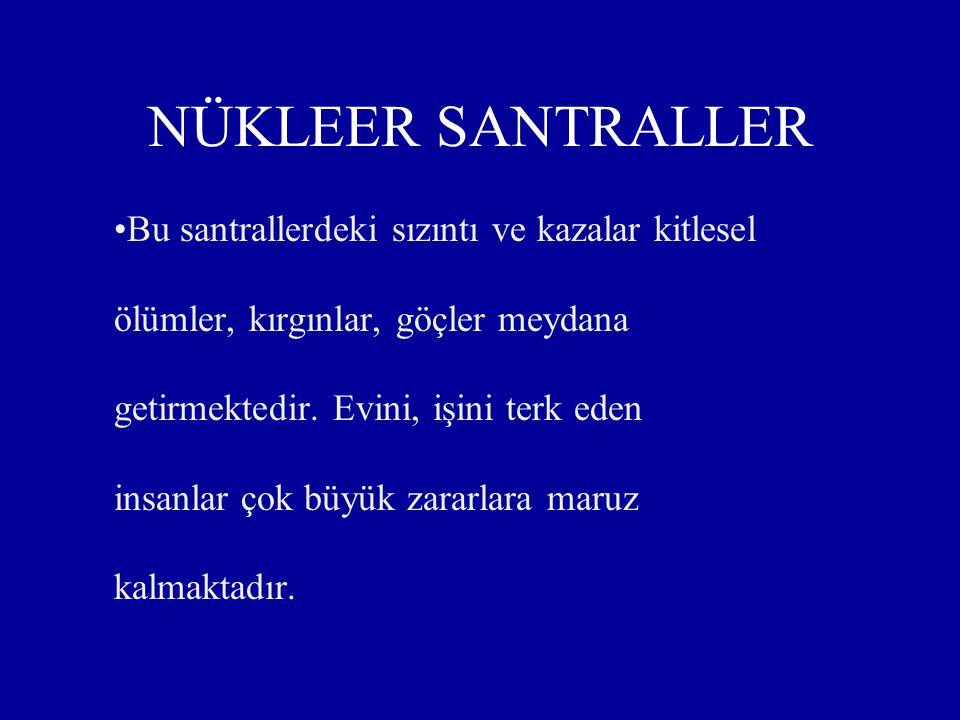 Bu kazalarda her yıl yüzlerce kişi yaralanmakta, sakat kalmakta hatta ölmektedir. Zonguldak ve Amasya maden ocaklarında görülen ölümlü kazalar buna mi