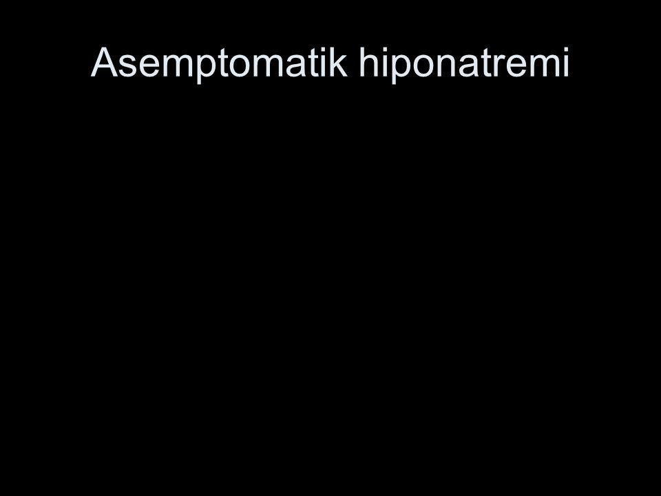Asemptomatik hiponatremi