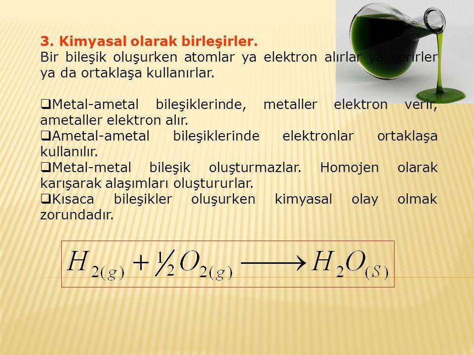 Formüller 2 kısımda incelenir.
