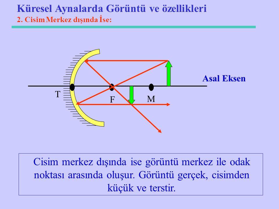 Küresel Aynalarda Görüntü ve özellikleri 2.