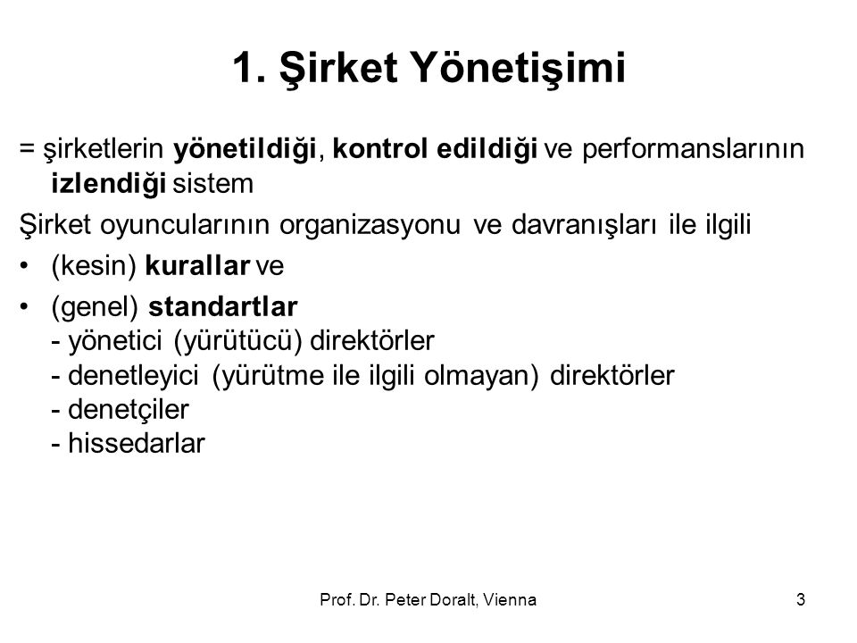 Prof. Dr. Peter Doralt, Vienna3 1.