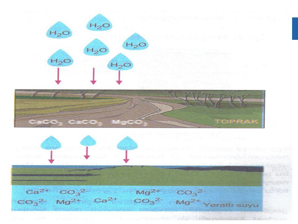  4.Sert sular ısıtıcılarda kireç birikmesine neden olur.