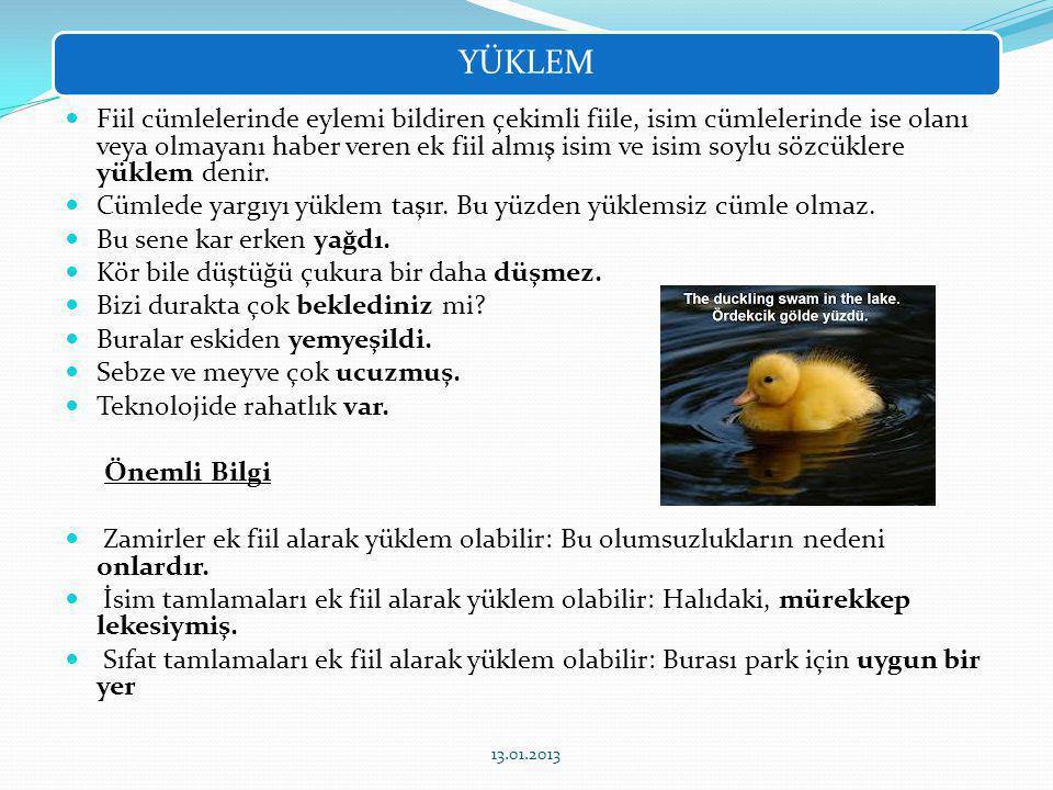 GİZLİ ÖZNE 13.01.2013