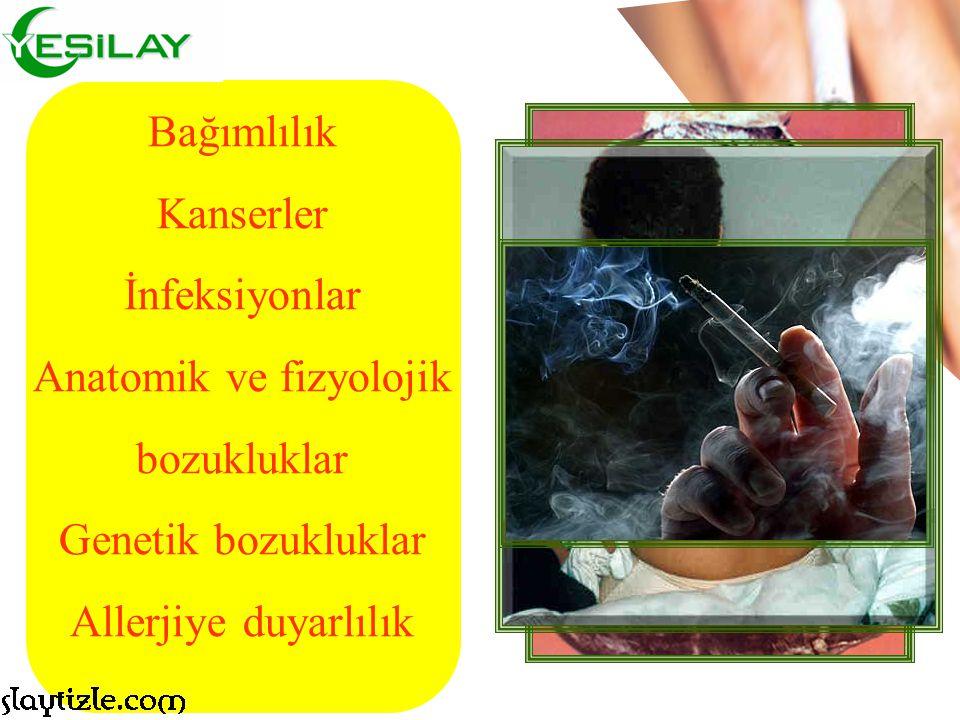 Sigaranın Sebeb Olduğu Hastalıklar