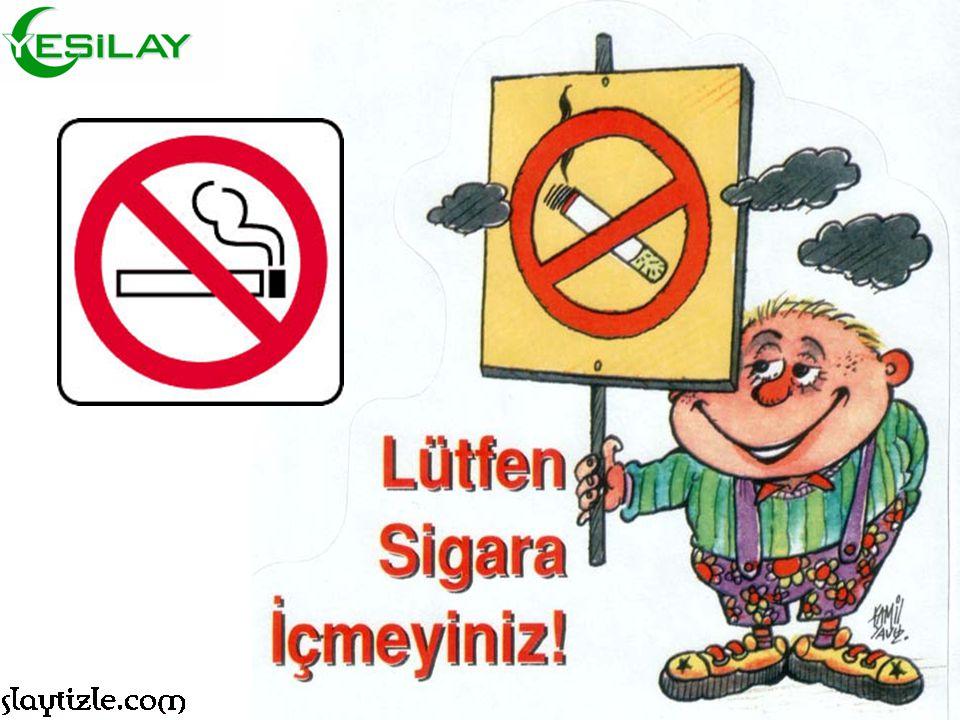 Kimse Kimseyi Sigara İçmeye Zorlamaz. Sigara içip içmemeye karar verecek olan, sizsiniz!