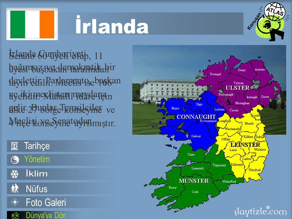İrlanda Cumhuriyeti bağımsız ve demokratik bir devlettir.