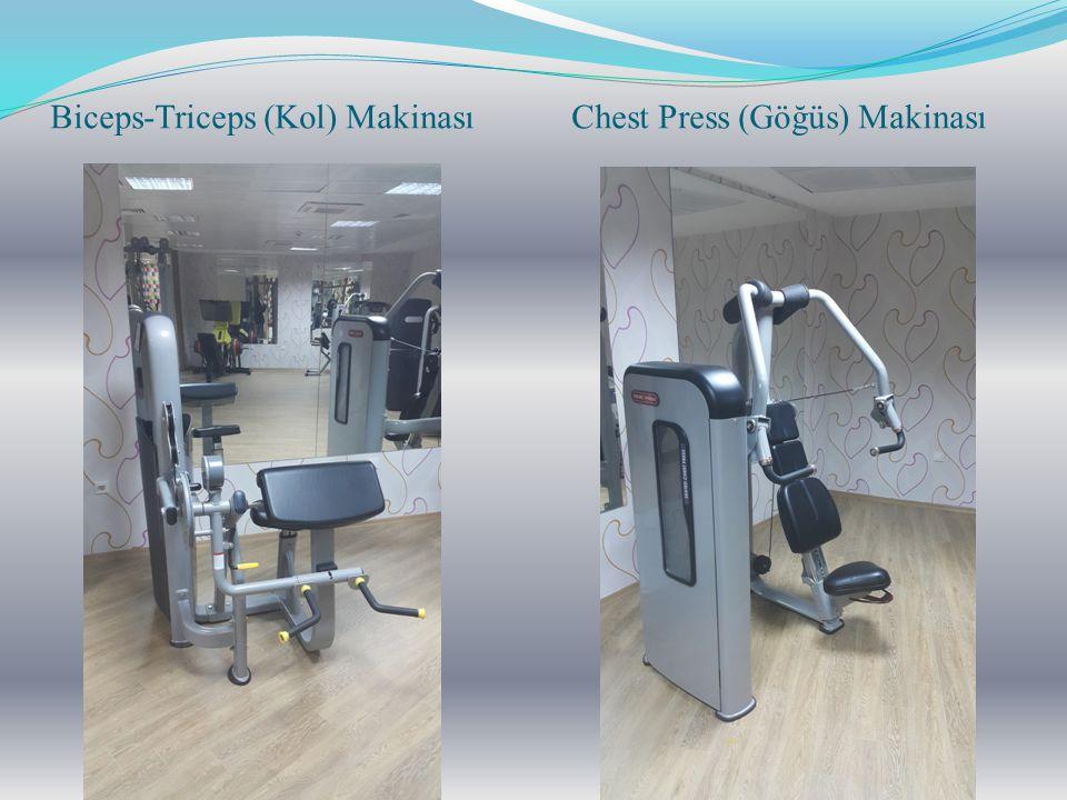 Biceps-Triceps (Kol) Makinası Chest Press (Göğüs) Makinası