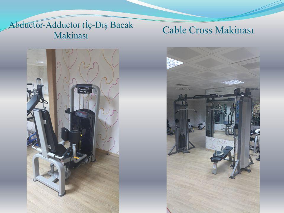 Abductor-Adductor (İç-Dış Bacak Makinası Cable Cross Makinası