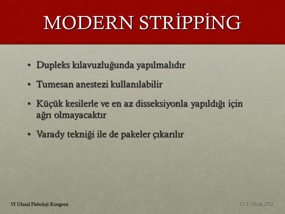 Dupleks Mapping 13-15 Ocak 2012VI Ulusal Fleboloji Kongresi