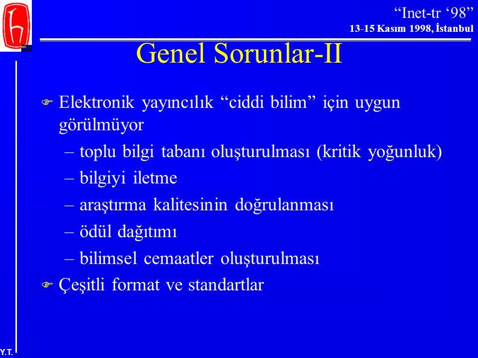 """""""Inet-tr '98"""" 13-15 Kasım 1998, İstanbul Y.T. Basılı Kitap Sayısındaki Artış (1453-1993)"""
