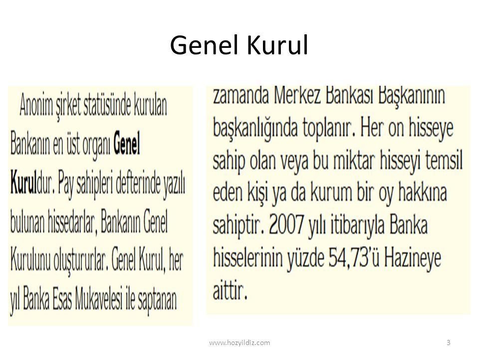 Genel Kurul www.hozyildiz.com3