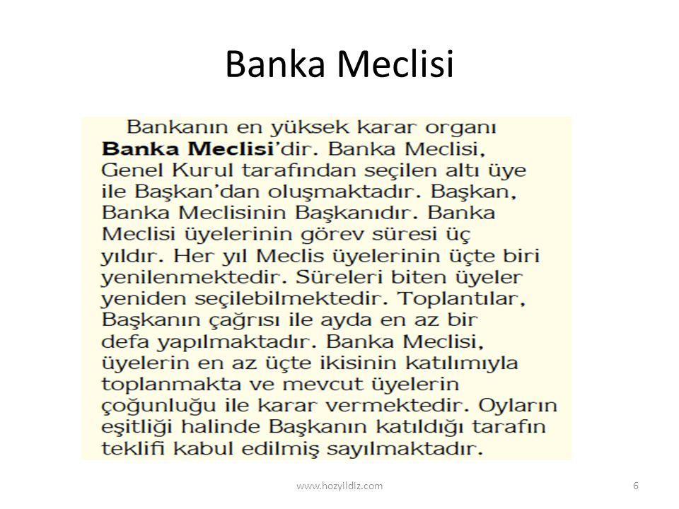 Banka Meclisi www.hozyildiz.com6