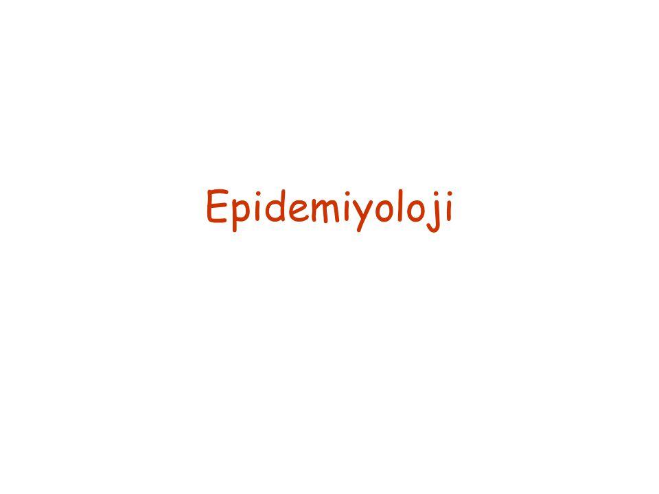  Türkiye HAV açısından orta endemik bir ülkedir.
