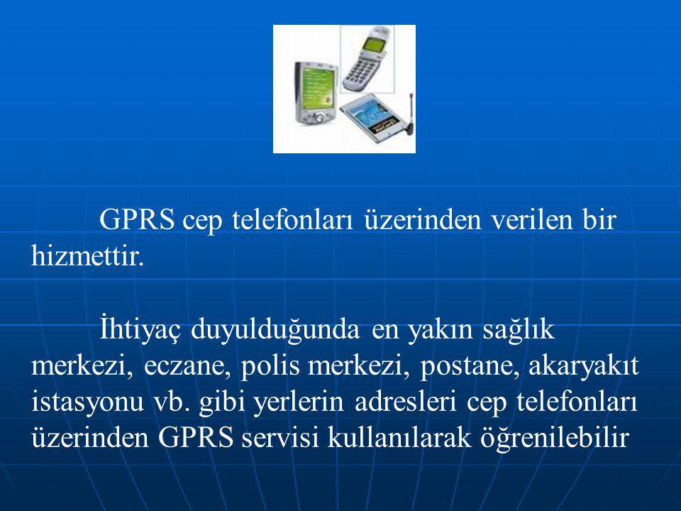 85/41  Sistem veri toplama ve değerlendirme özelliğine sahiptir.