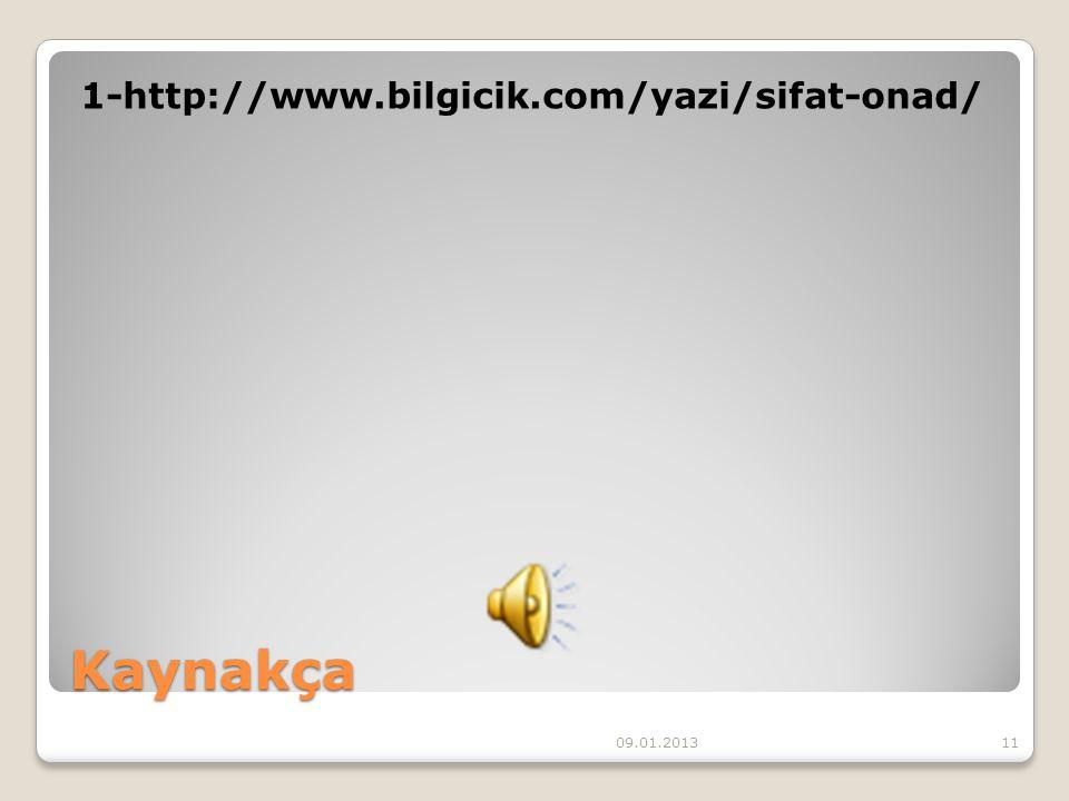 Özet SIFAT (ÖN AD) : İsimleri niteleyen ya da belirten sözcüklerdir.