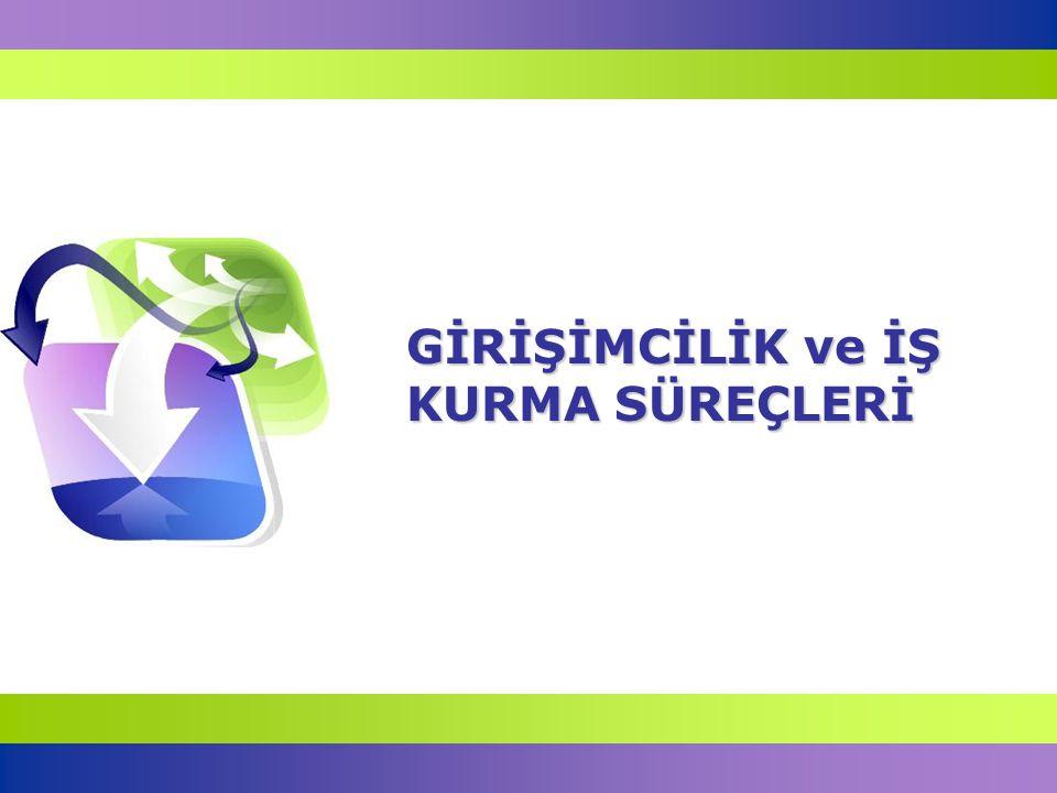 12 Türkiye'de Girişimcilik Ülkemizde 7 milyon kişi maaşlı, yaklaşık 6.5 milyon kişi ise kendi işinde çalışmaktadır.