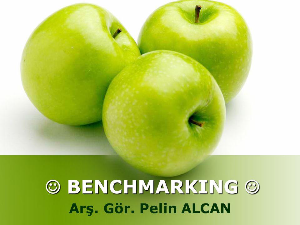1.Benchmarking (Kıyaslama) Nedir. 1. Benchmarking (Kıyaslama) Nedir.
