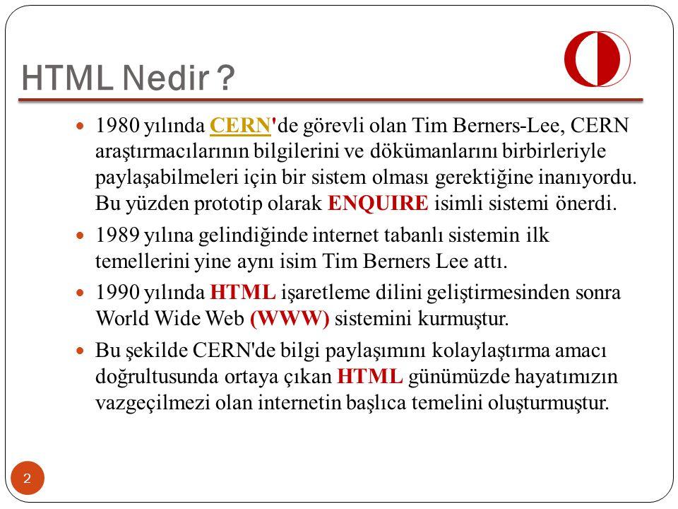 1980 yılında CERN'de görevli olan Tim Berners-Lee, CERN araştırmacılarının bilgilerini ve dökümanlarını birbirleriyle paylaşabilmeleri için bir sistem