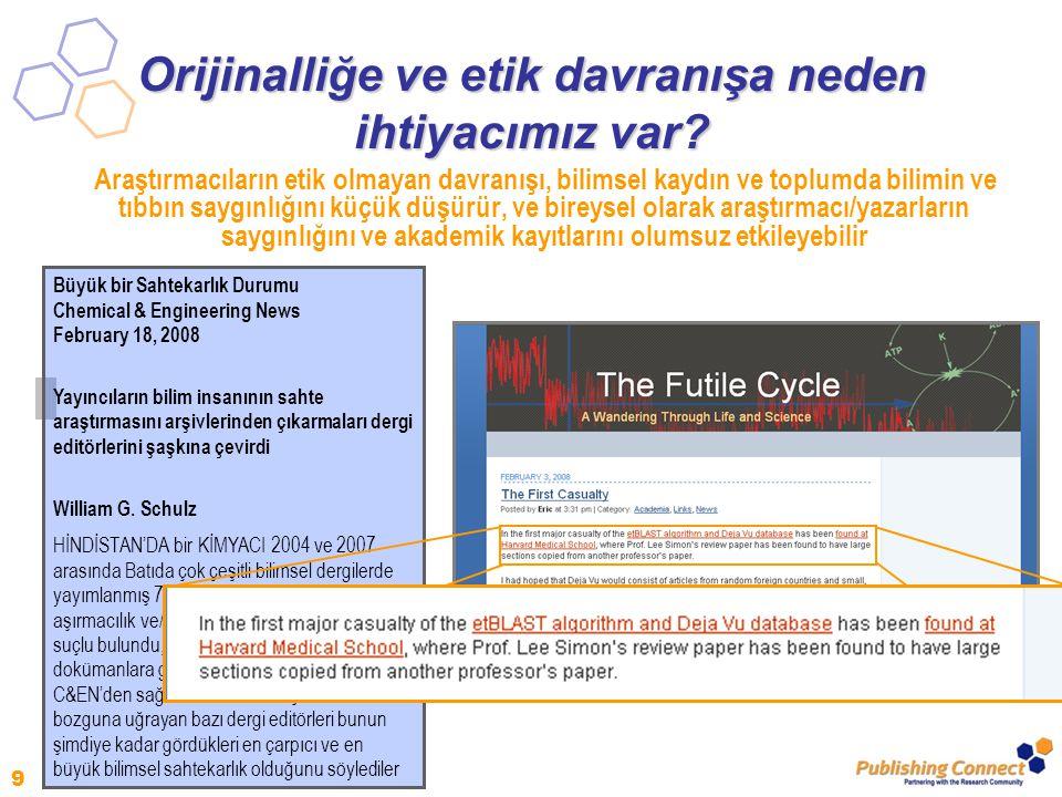 30 Elsevier Yazar Hakları Yayıncı anlaşmaları çeşitlidir, fakat Elsevier genellikle yazarlara şunlar için izin verir: – Eğitim: sınıfta eğitim amaçlı kullanım için fotokopi yapmaya izin verilir – Eğitim materyalleri: makale yazarın kurumunda veya şirketinde e-ders paketine veya şirket eğitimine eklenebilir – Bilimsel paylaşım: makalenin kopyası araştırma meslektaşlarıyla paylaşılabilir – Toplantılar/Konferanslar: Makale sunulabilir ve katılımcılar için kopya yapılabilir – İlerideki çalışmalar: makale derlemelerde, genişletilmiş kitap formatında veya tezlerde kullanılabilir – Patent ve marka hakları: herhangi bir icat ortaya koymak veya ürün belirlemek için kullanılabilir