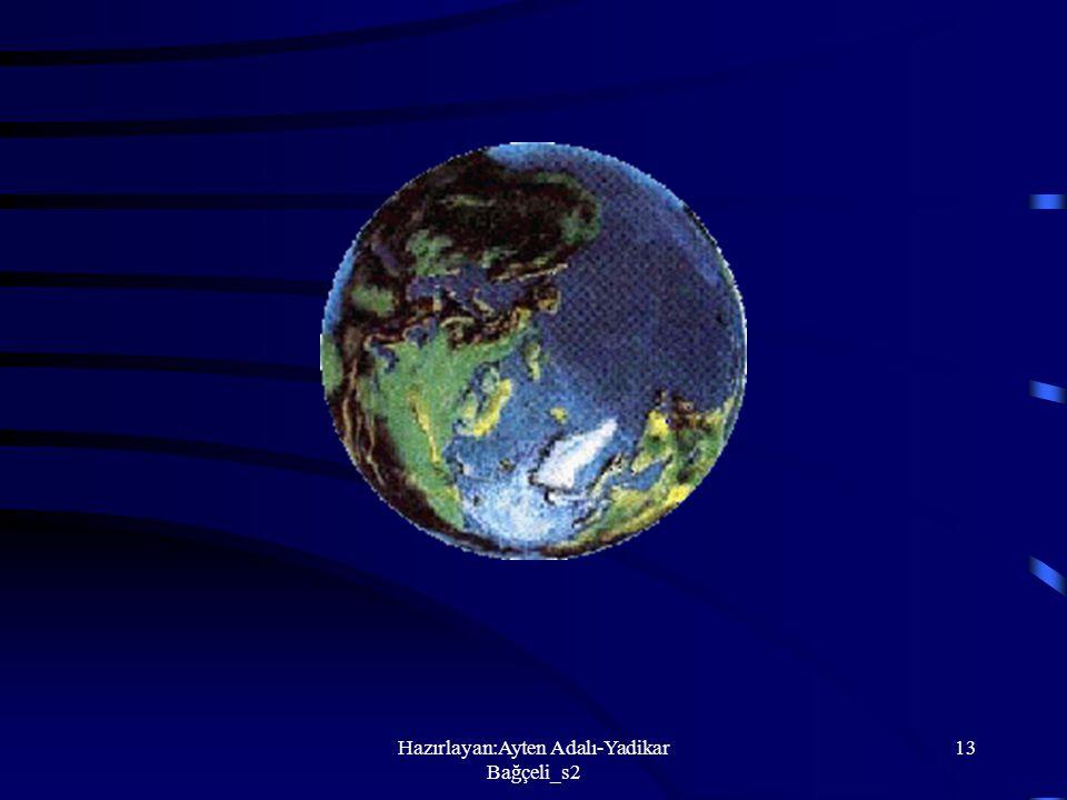 Hazırlayan:Ayten Adalı-Yadikar Bağçeli_s2 12 Ay, Dünyamızla birlikte dönerken, Güneşten aldığı ışığa göre görünüşü değişir.