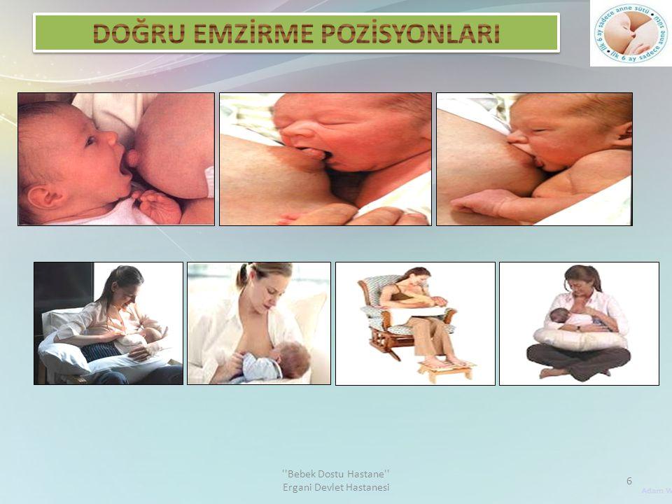  Bu pozisyon küçük doğmuş bebekler için uygundur.